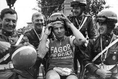 Raymond Poulidor, durante el Tour de Francia 1970.