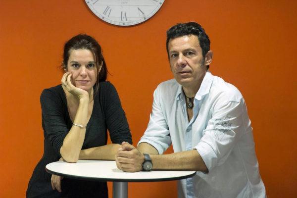 Los periodistas Mónica García Prieto y Javier Espinosa.