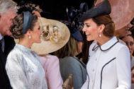 La Reina Letizia junto a Kate Middleton
