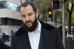 Borja Thyssen, junto a su abogado, a su llegada a los juzgados de Madrid.
