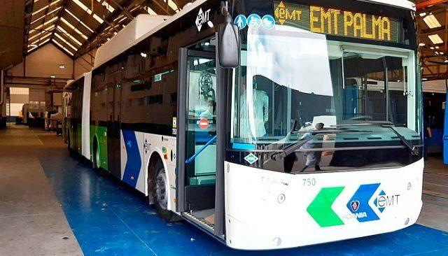 Un bus de la EMT de Palma.