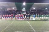 Suena  el himno franquista en el partido de Copa de El Álamo, uno de los pueblos donde ganó Vox