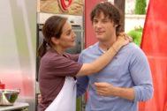 Así fue el beso entre Tamara Falcó y Jordi Cruz en MasterChef Celebrity 4