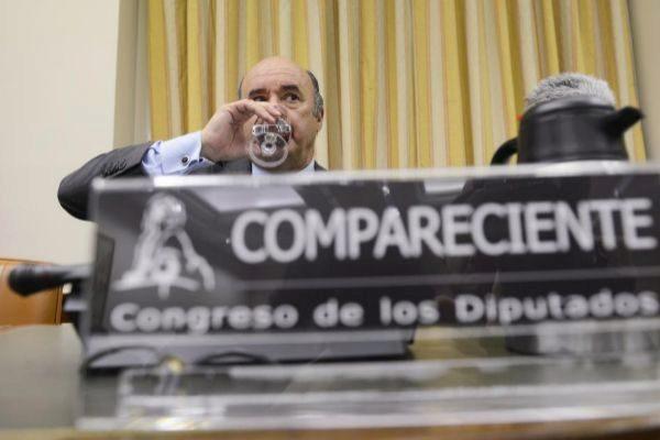 En ex gerente del PP de Madrid Beltrán Gutiérrez, en una...