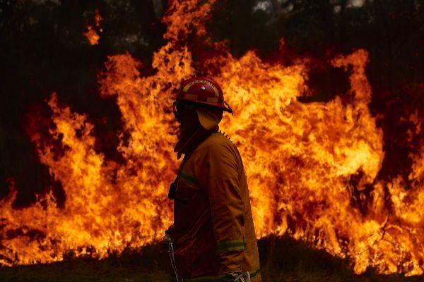 La crisis climática trae estas llamas