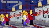Dos fotogramas de Los Simpson con diferente relación de aspecto.