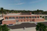 Recreación del Centro de Salud de Sant Joan tras la reforma.