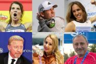 Ruth Beitia, Sergio García, Paula Butragueño, Boris Becker, Lydia Valentín y Fermín Cacho, algunas de las estrellas de deporte que participan en el Marca Sport Weekend
