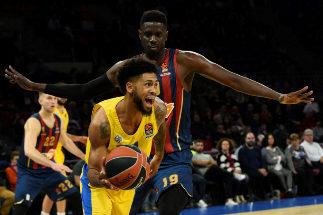 La paliza del Maccabi al Baskonia: 113 puntos