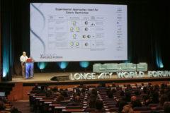Primera jornada del Longevity World Forum en Valencia, ayer.