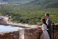Los Reyes de España Felipe VI y Letizia visitan la fortaleza de San Pedro de la Roca del Morro en Santiago, Cuba,