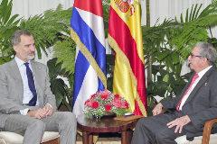 Los Reyes viajan de Cuba a Washington en una visita privada tras verse con Castro