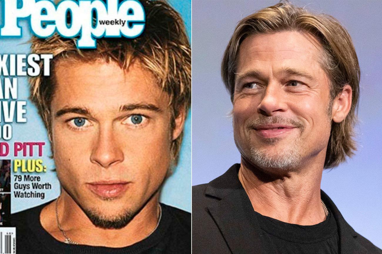 El siglo XXI comenzó coronando a (cómo no) Brad Pitt (55) como el...
