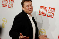 Elon Musk, CEO de Tesla, en Berlín.