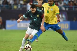 Messi da la victoria a Argentina en el debut de Rodrygo con Brasil