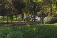 Busto de Dolores Ibarruri en Rivas Vaciamadrid.