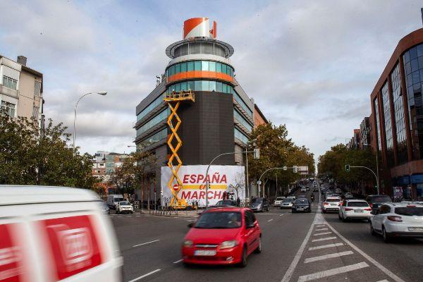La sede de Ciudadanos en la calle Alcalá de Madrid.