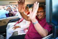Gotabaya Rajapaksa, este domingo en Colombo, capital de Sri Lanka.