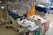 Incubadoras en un centro hospitalario.