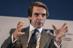 José María Aznar, en un acto celebrado a principios de mes en Madrid