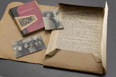 Manuscrito original de 'Auschwitz, última parada', de Eddy de Wind.