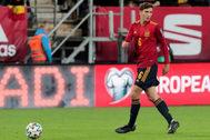 El defensa de la selección española Pau Torres