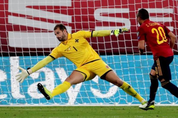 El centrocampista de la selección española Santi Cazorla