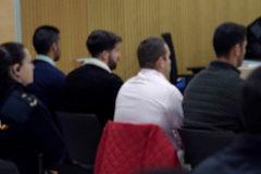 Cuatro de los miembros de La Manada ante el juez, en Córdoba.