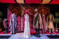 Los vestidos de la boda de Joffrey Baratheon y Margaery Tyrell.