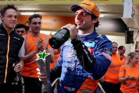 Las cinco claves del primer podio de Carlos Sainz