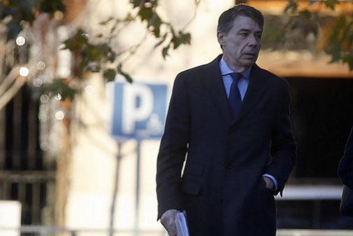 Ignacio González entra en la Audiencia Nacional por la investigación...