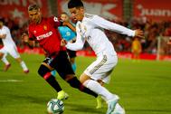James Rodríguez, en su último partido como titular ante el Mallorca.