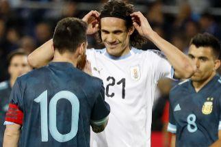 Tablas de Argentina y Uruguay en su primer clásico en Israel (2-2)