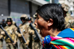 La bandera indígena que divide Bolivia
