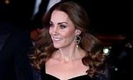 Kate Middleton acudió anoche al acto benéfico de la 'Royal Variety' en Londres.