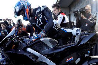 Álex Márquez estrena con caída la MotoGP