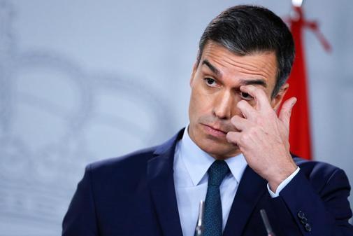 El presidente del Gobierno en funciones, Pedro S
