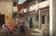 'La casa de Tócame Roque'. Manuel García 'Hispaleto'. Hacia 1886.