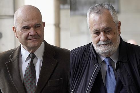 Seis años de cárcel para Griñán y nueve de inhabilitación para Chaves y Álvarez
