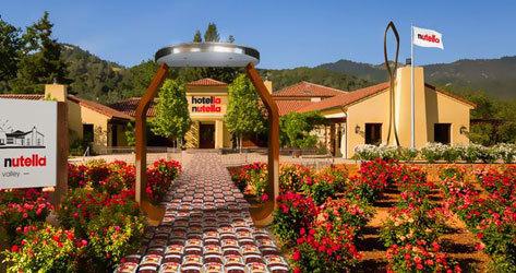 Hotella Nutella: abre un hotel temático para los fans de la crema de cacao | América
