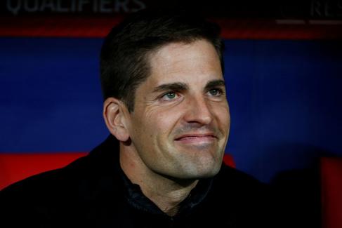 El ex seleccionador español, Robert Moreno.