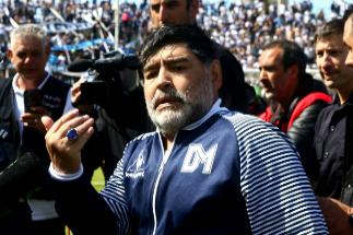 El incierto futuro de Maradona tras su adiós a Gimnasia