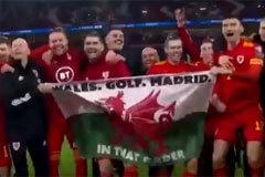 La burla de Bale tras sellar el pase de Gales a su segunda Eurocopa seguida