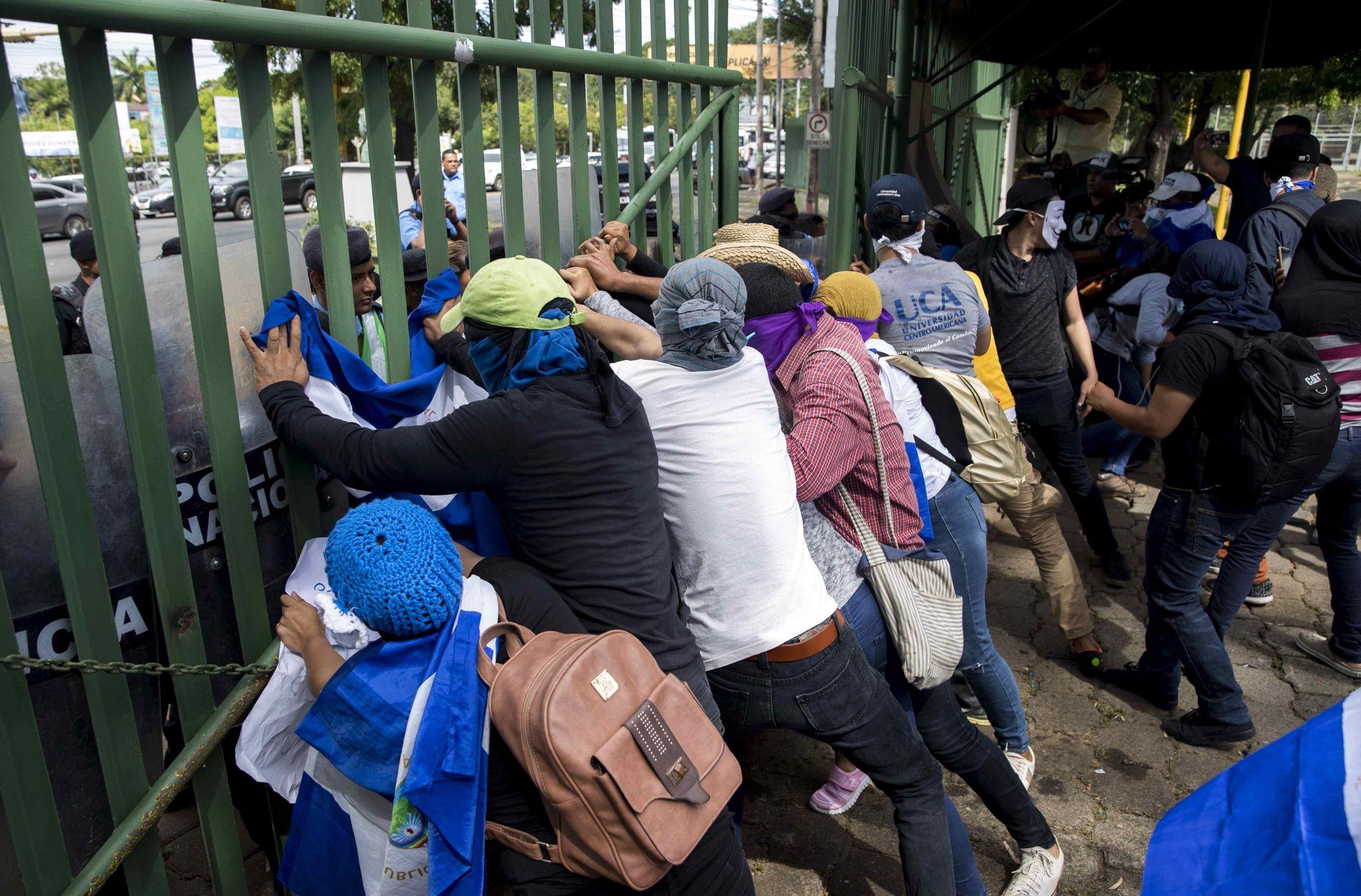 -FOTODELDIA- AME7252. <HIT>MANAGUA</HIT> (NICARAGUA), 19/11/2019. -...