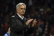 Mourinho, tras un partido contra el Tottenham.