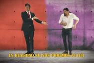 Contigo ahora sí quiero gobernar, la parodia de Los Morancos de Pedro Sánchez y Pablo Iglesias.