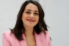 Inés Arrimadas, en la reunión del Comité Permanente de Ciudadanos celebrado el pasado lunes.