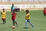 Así es la liga de fútbol de uno de los mayores campos de refugiados sirios