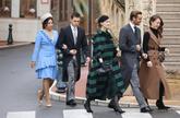 Beatrice lleva un <em>lookazo</em> muy Diane von Furstenberg que nos...