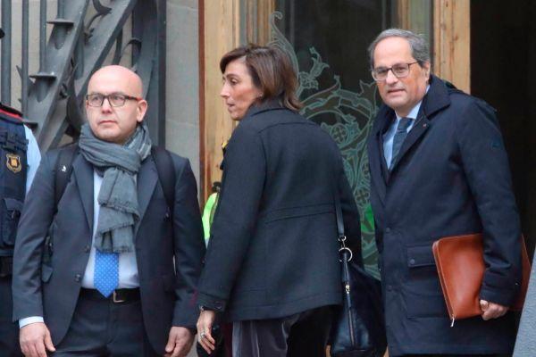 Antonio Moreno 18.11.2019 Barcelona Cataluña . Juicio al president...